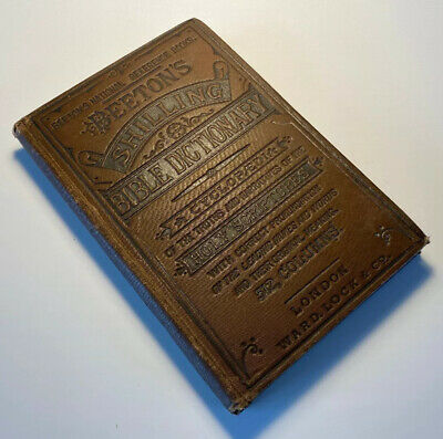 Bible Dictionary Beeton's, Truths And Narratives Of The Holy Scriptures, Antique
