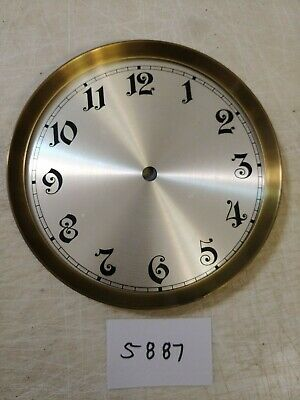 German Replacement Wall  Clock Dial And Bezel With Mounting Plate N/O Stock
