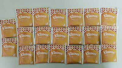 20ct Kleenex GermRemove WetWipe for Hand Face Individually Wrapped FAST SHIPPING