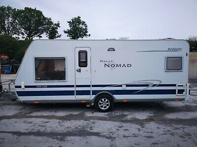 Dethleff Rally nomad 550 touring caravans 5 berth used