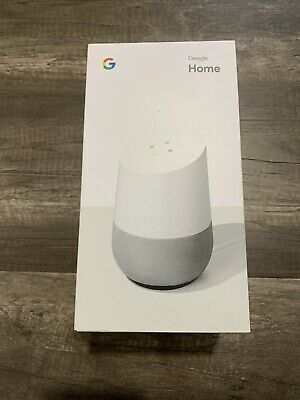 Google Home - Google Assistant - Smart Speaker & Charger - Open Box!
