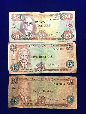 Jamaica Bank Note Lot