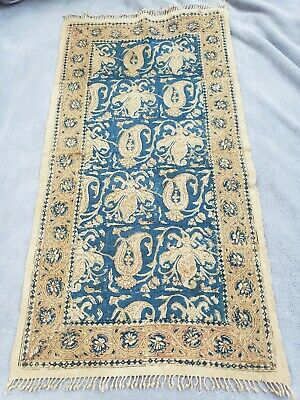 Vintage Persian Textiles Linen Table Runner Made in Iran