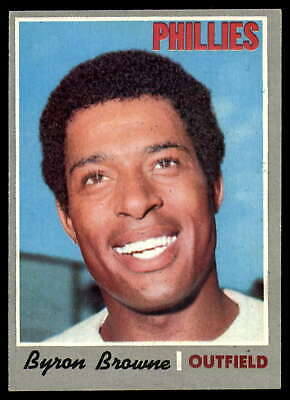1970 Topps #388 Byron Browne Phillies VG/EX Very Good/Excellent