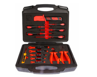 RS PRO 14 Piece Engineers Tool Kit VDE Approved