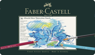 Faber Castell- 36 Watercolour Pencils Albrecht Durer- Tin Set- RRP£75.00- 117536