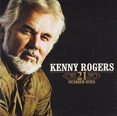 Kenny Rogers - 21 Number Ones - Int'l - CD - New