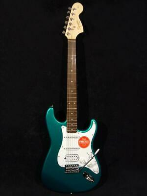 Squier Affinity Stratocaster HSS Race Green Guitar 6 String Original by Fender