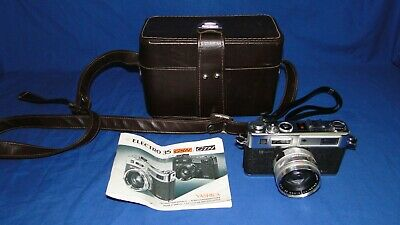 Yashica Electro 35 GSN Rangefinder Camera with Case and Manual