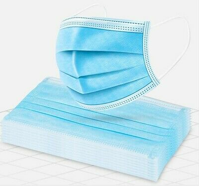 60PCS 3PLY Face Cover Shield Anti Pollutant Anti-Dirt Fast Shipping Unbranded