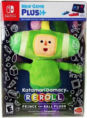 Katamari Damacy REROLL Prince & Ball Plush Toy Doll - NO GAME
