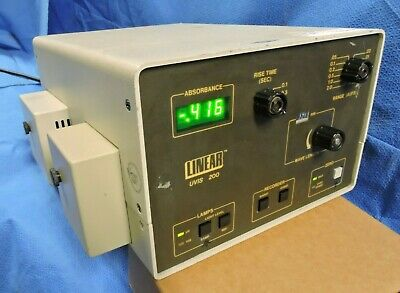 Linear UVIS 200 Variable Wavelength Absorbance Detector & Deuterium lamp Thermo