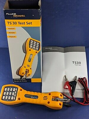 New Fluke TS30 Test Set, Original Box, See Details