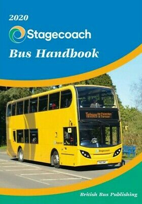 2020 Stagecoach Bus Handbook by BBP BRAND NEW OUT BRAND NEW