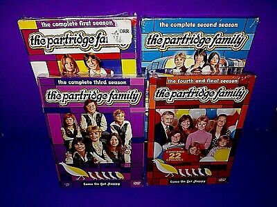 The Partridge Family Complete Series DVD Lot Brand New B528