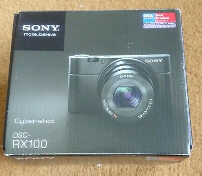 Sony Cyber-shot DSCRX100 20.1 MP Digital Camera - Black