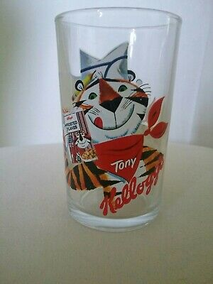 Tony the Tiger Kellogg's Frosted Flakes Juice Glass