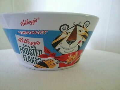 Tony the Tiger Frosted Flakes Ceramic Cereal Bowl 2007