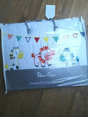 Silver Cross Zoobaloo Cot Bed Quilt