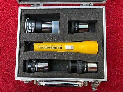 SIRIUS Plossl Telescope Eyepieces & LED Flashlight