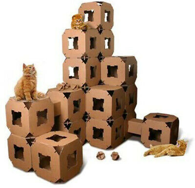 9 Piece Cube Tower Stackable Play House