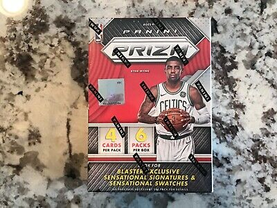 2017/18 Panini Prizm Basketball Sealed Blaster Box-Auto/Mem
