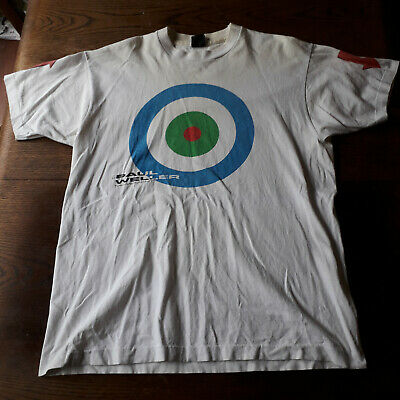 THE PAUL WELLER MOVEMENT VINTAGE ORIGINAL 1990 TOUR T-SHIRT Size XL