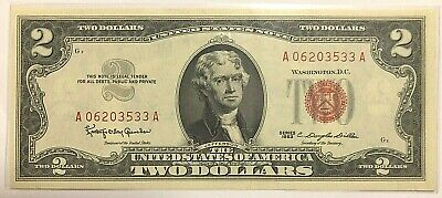 1963 $2 Red Seal - Unc
