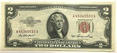 1953 $2 Red Seal - Unc