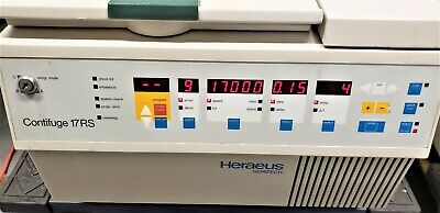 Heraeus Contifuge 17RS Refrigerated Centrifuge With Rotor