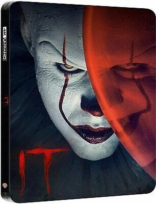 IT Chapter 1 - Limited Edition Steelbook [4K UHD - Blu-ray] New!