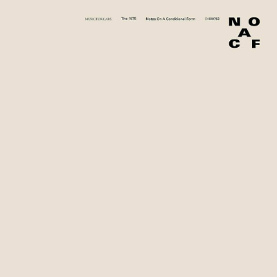 THE 1975 NOTES ON A CONDITIONAL FORM NEW CD - Released 22/05/2020