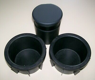 Genuine Toyota Ashtray / Coin Holder & Rubber Insert Cup Holders ~ Free UK P&P