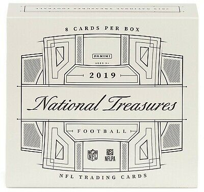Live Group Break - 2019 National Treasures Football Hobby Box - Random Player