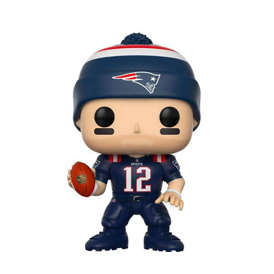 "Tom Brady New England Patriots NFL Funko Pop Vinyl 3.75"" Figure - Colour Rush"