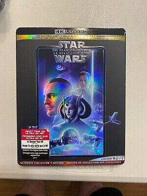Star Wars: The Phantom Menace (4K Ultra HD + Blu-ray + Digital) Includes Slip