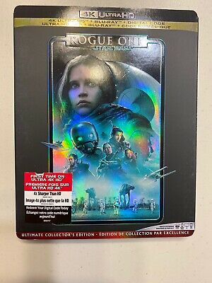 Star Wars: Rogue One (4K Ultra HD + Blu-ray + Digital, Bilingual) Includes Slip