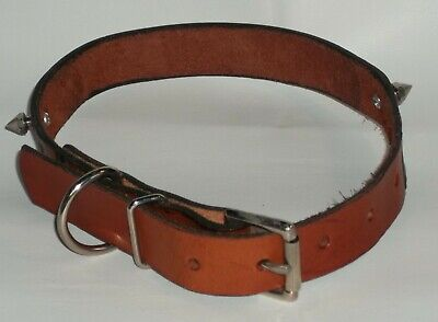 Dog Collar Genuine 100% Leather Hand Stamped Personalized Xl Handmade Usa