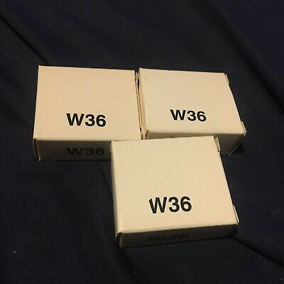 Allen Bradley W36 Lot Of 3 Overload Relay Heater Elements New In Box