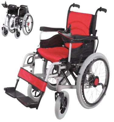 Electric and Manual Wheelchair self propelled Heavy duty 125 kg capacity for Sal