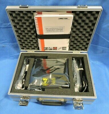 JOFRA Ametek ETC-125A Dry Block Easy Temperature Calibrator & Accessories & Case