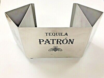 "Patron Napkin Caddy Bar Tidy Barware Straw Swizzle Holder, 10""x6""x5"""