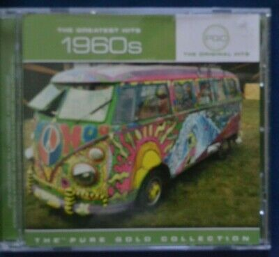 Various Artists : THE GREATEST HITS 1960s Pure Gold Collection CD