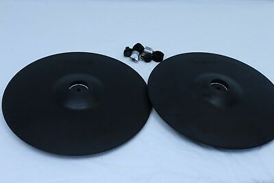 TWO Roland CY-13R V-Cymbal V Drum Trigger CY13R for TD 20 12RC 13 10 8 30 50
