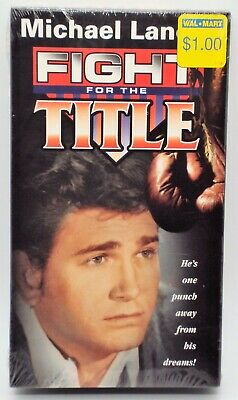 FIGHT FOR THE TITLE New VHS BW 1957 TELEPHONE TIME Boxing Episode Michael Landon