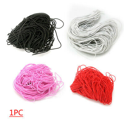 DIY Round Elastic Thin Band Cord Fibre Craft Thread Stretch String Sewing