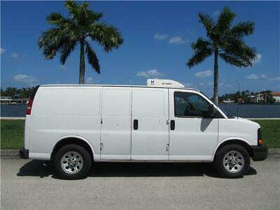 2013 Chevrolet Express FORD TRANSIT CONNECT E150 E250 DODGE RAM PROMASTER 2013 CHEVROLET EXPRESS REEFER VAN EXTENDED COOLER REFRIGERATED RUNS & COOLS GR8