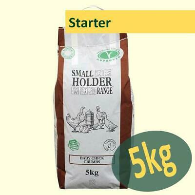 Allen & Page Small Holder Baby Chick Crumbs 5kg