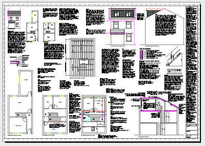 Cad Dvd 2020 - Lofts, Houses, Extensions, Garages Planning + Building Regs Plans