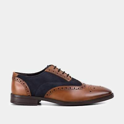 Brown Mens Formal Wedding Casual Shoes Sizes UK Leather /& Suede Gatsby  Navy